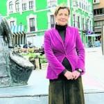 Ana Álvarez, actual portavoz del PSOE en Grado. l. valdés