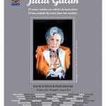 Cartel Julia Galán
