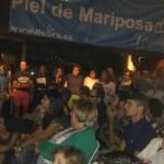 Los moscones, de espicha solidaria REPRODUCCIÓN DE S. ARIAS