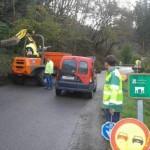 Mejoras en la carretera moscona entre San Pedro y Restiello S. ARIAS