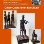 Exposición Escultura de César Castaño en Grado