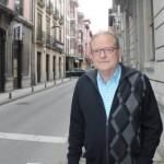 Xosé Lluis Alberdi, ayer, en Grado. S. ARIAS
