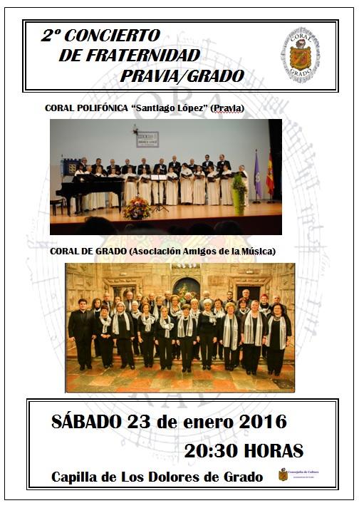 Concierto de Fraternidad Pravia/Grado