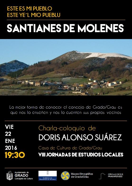 Charla sobre Santianes de Molenes
