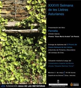 INV. XXXVII Selmana de les Lletres Asturianes
