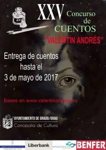 XXV Concurso de Cuentos Valentín Andrés